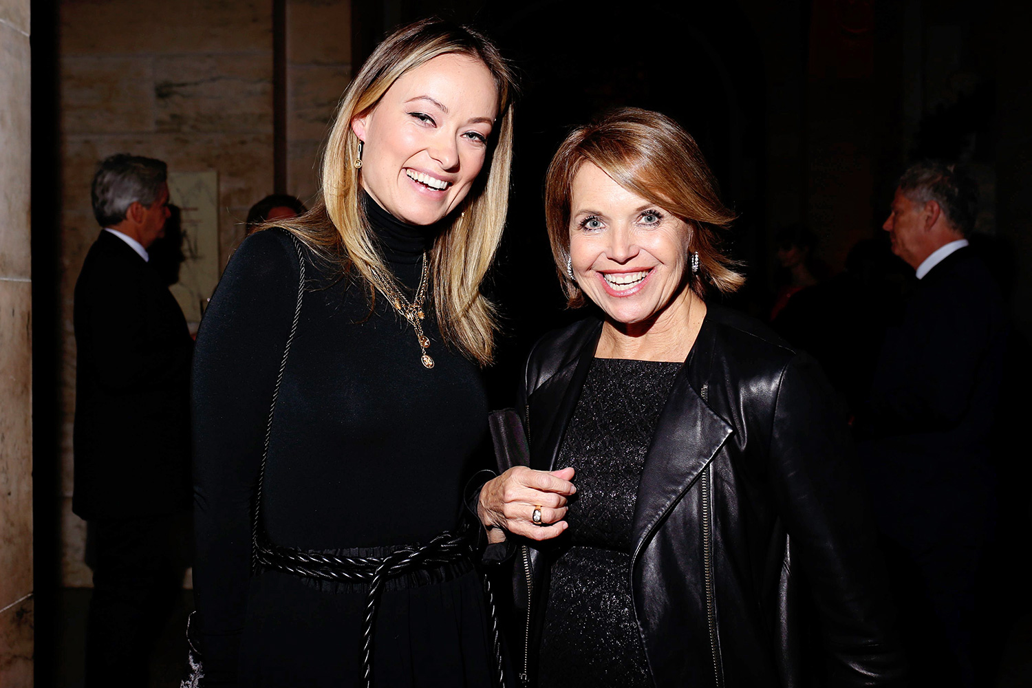Olivia Wilde and Katie Couric Berggruen Prize for Philosophy and Culture gala, Inside, New York Public Library, USA - 16 Dec 2019
