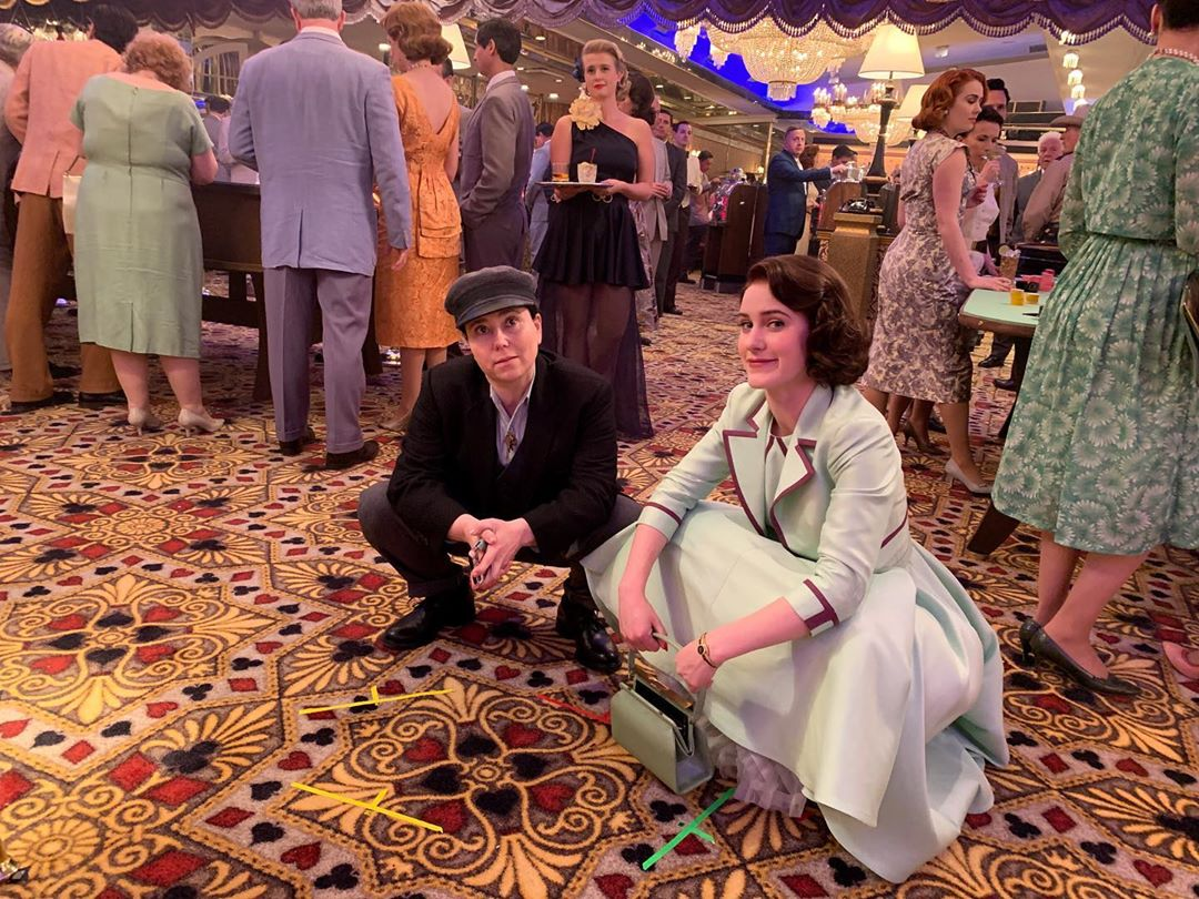 Rachel Brosnahan Shares BTS Photo from The Marvelous Mrs. Maisel Ahead of Season 3 Premiere: 'One More Day!'