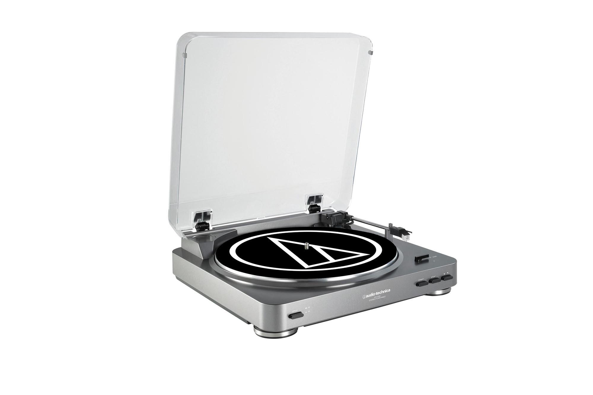 Silver Record Player