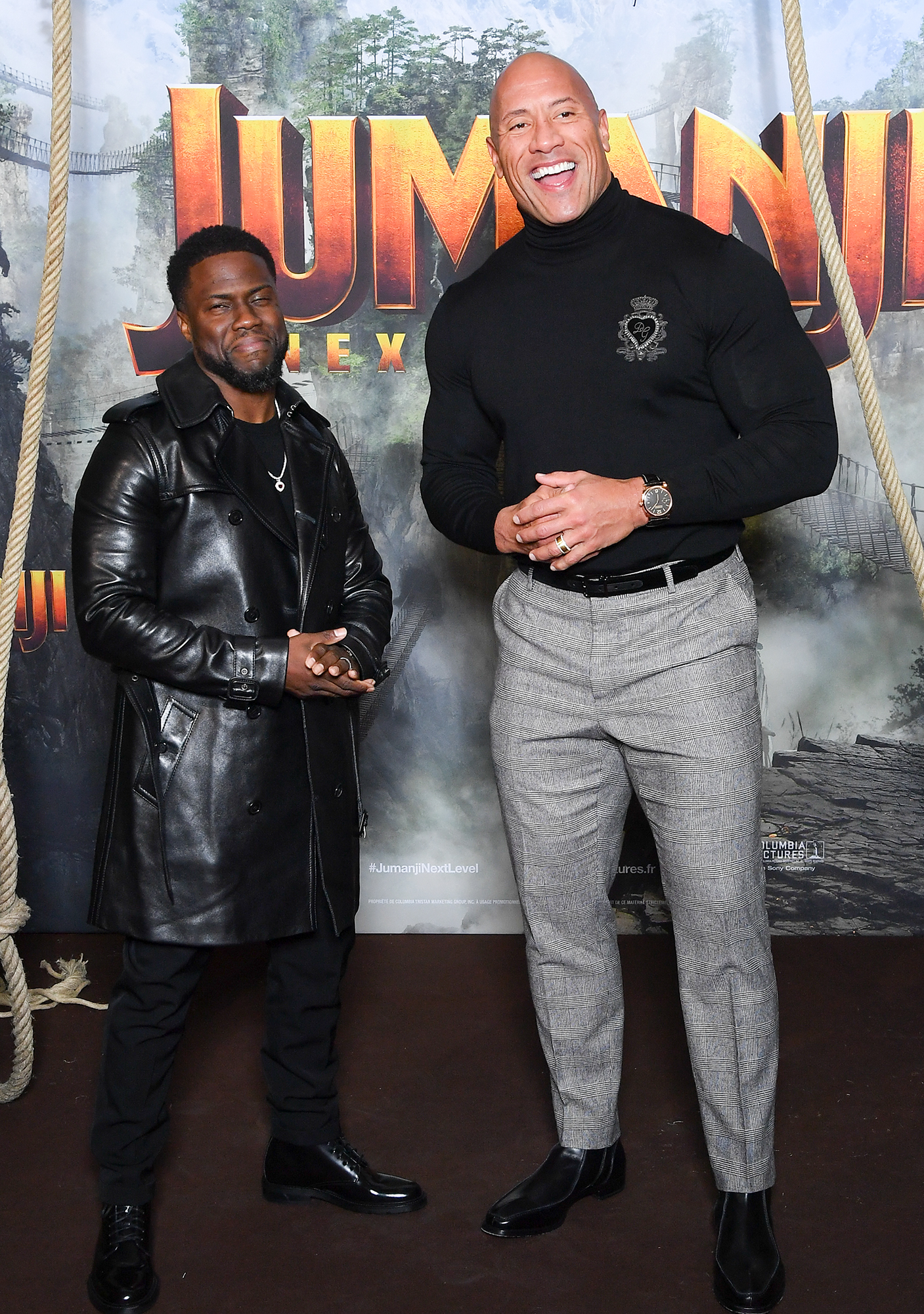 The Rock Kevin Hart