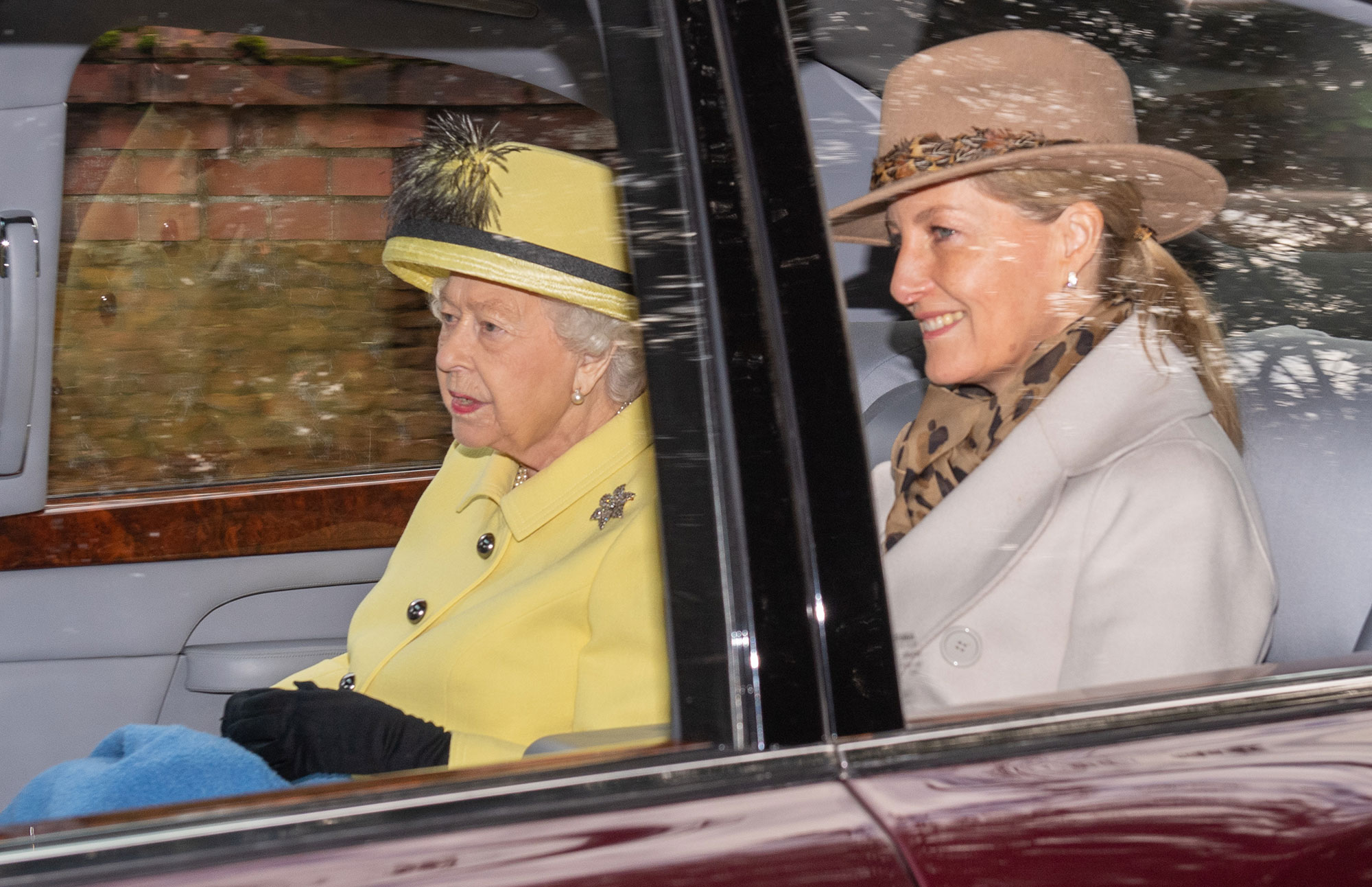 Queen Elizabeth II and the Countess of Wessex