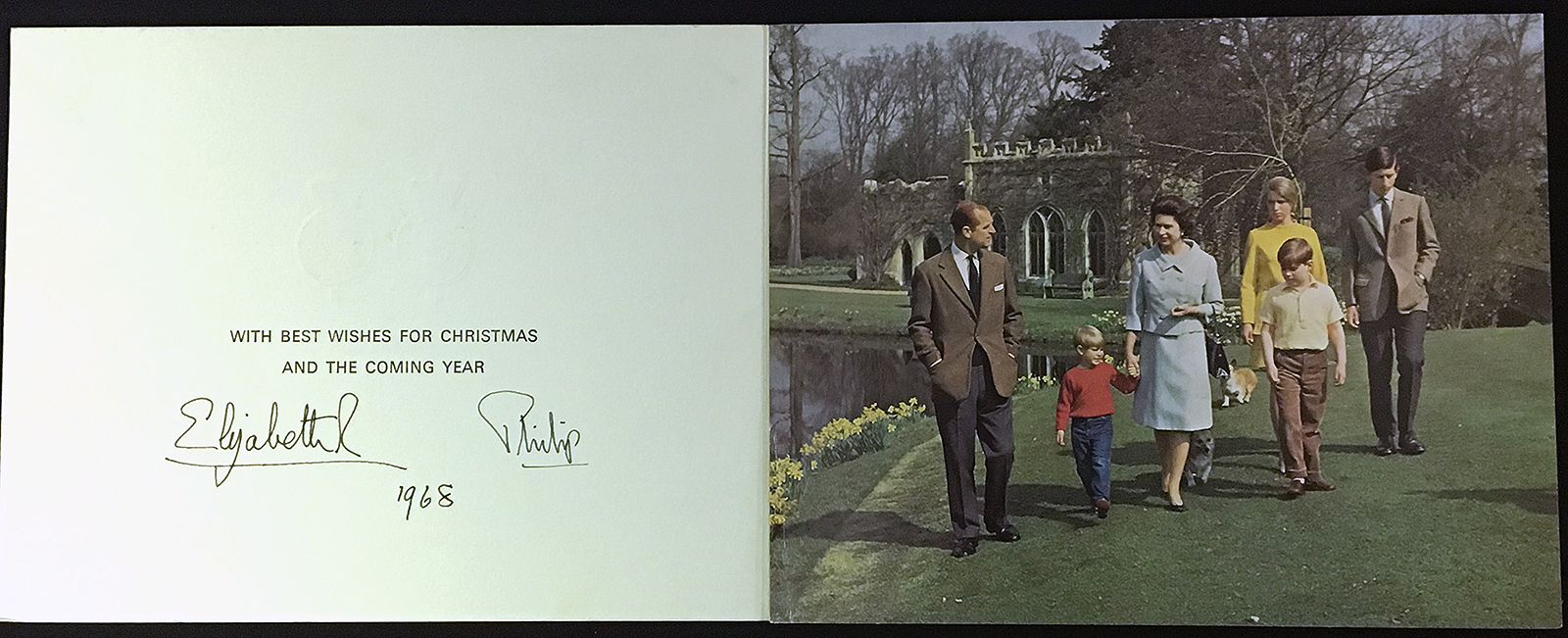 Royals Christmas cards