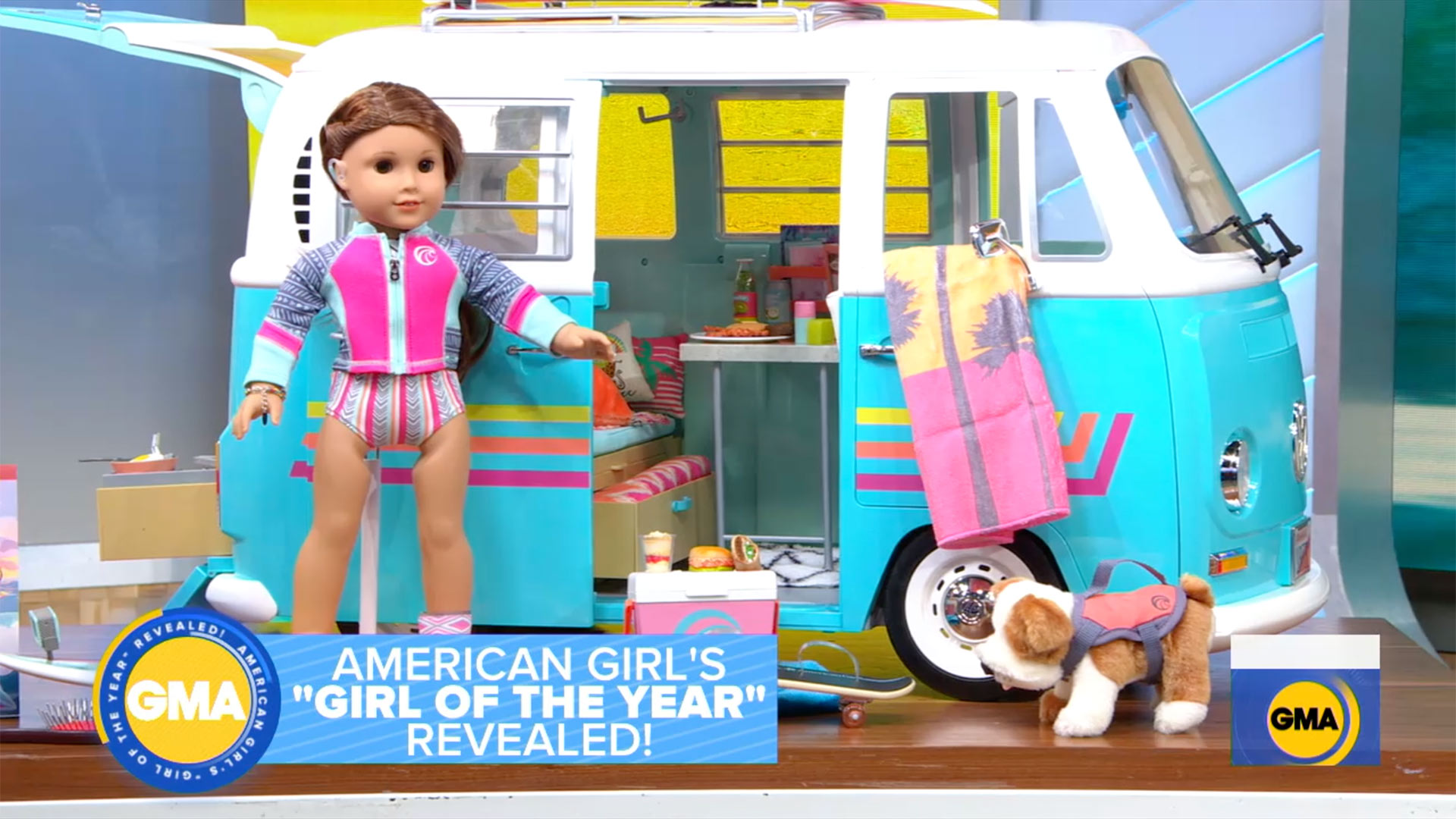 American Girl's 2020 Girl of the Year doll is Joss Kendrick.