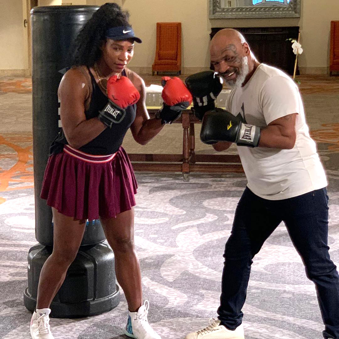 From the Court to the Ring! Serena Williams Gets Boxing Lessons from Mike Tyson: 'She Has Some Power'