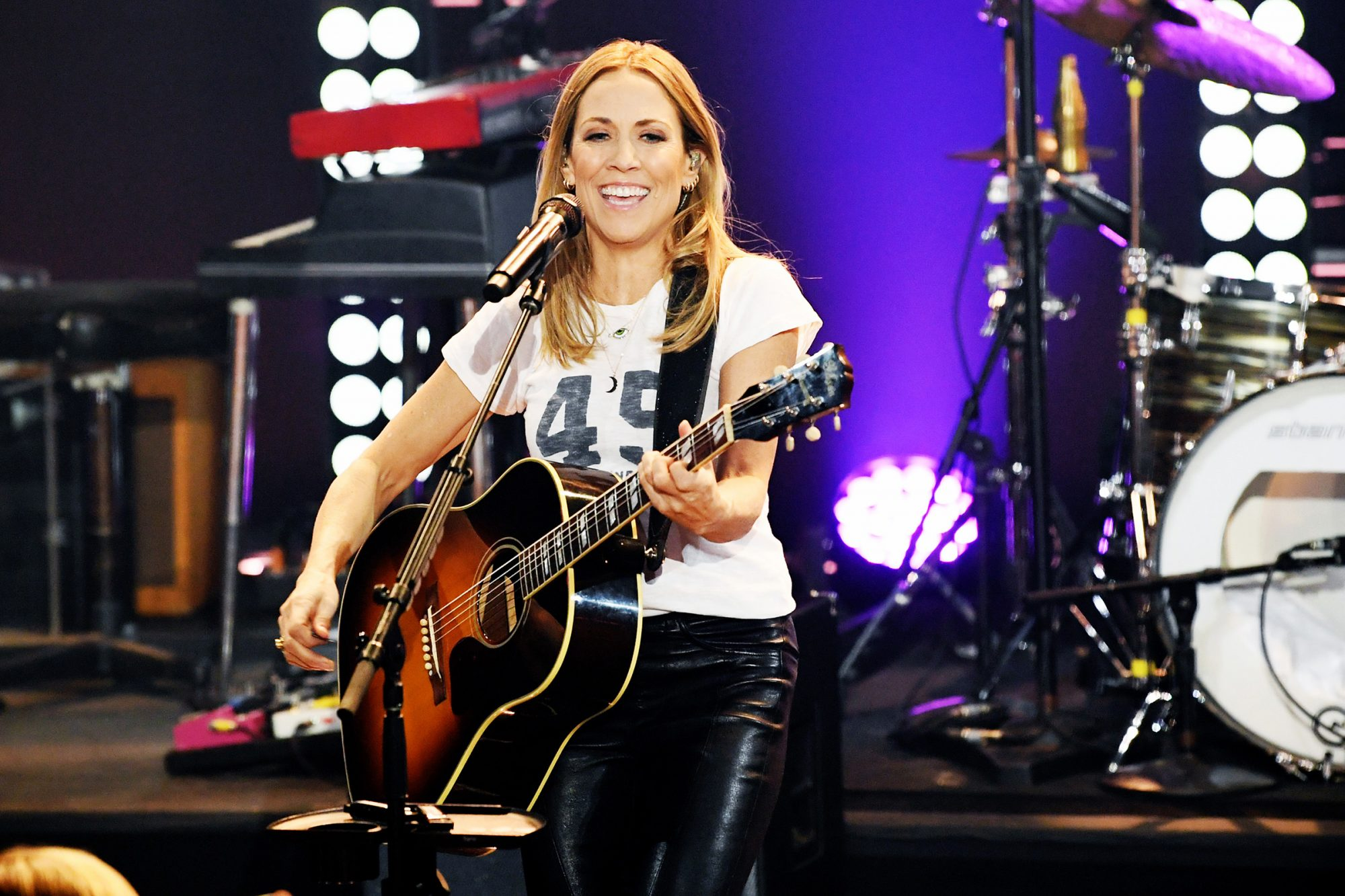 Sheryl Crow performs onstage during iHeartRadio LIVE With Sheryl Crow at iHeartRadio Theater on December 02, 2019 in Burbank, California
