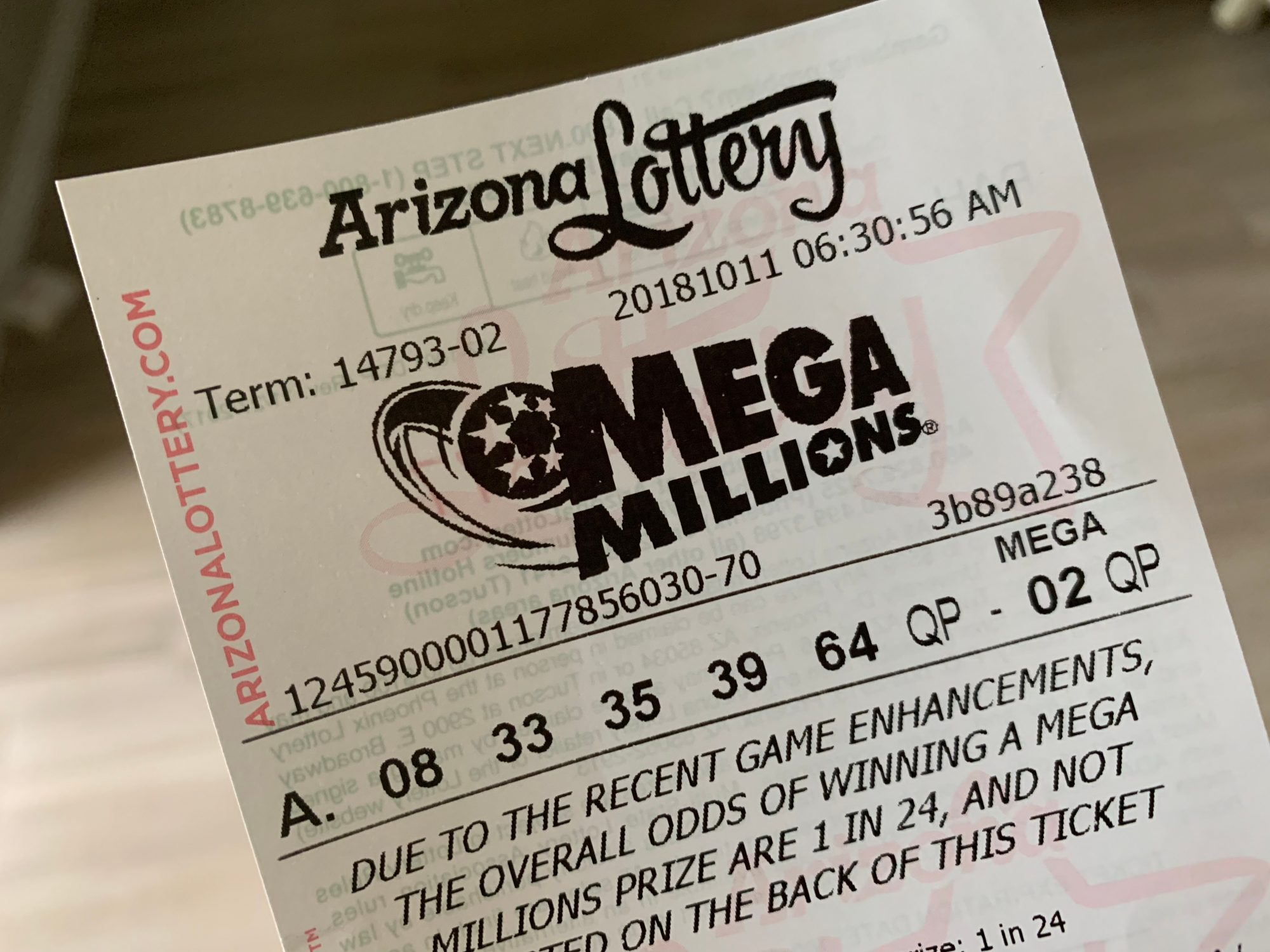 $14.6 Million Winning Lottery Ticket Goes Unclaimed | PEOPLE.com