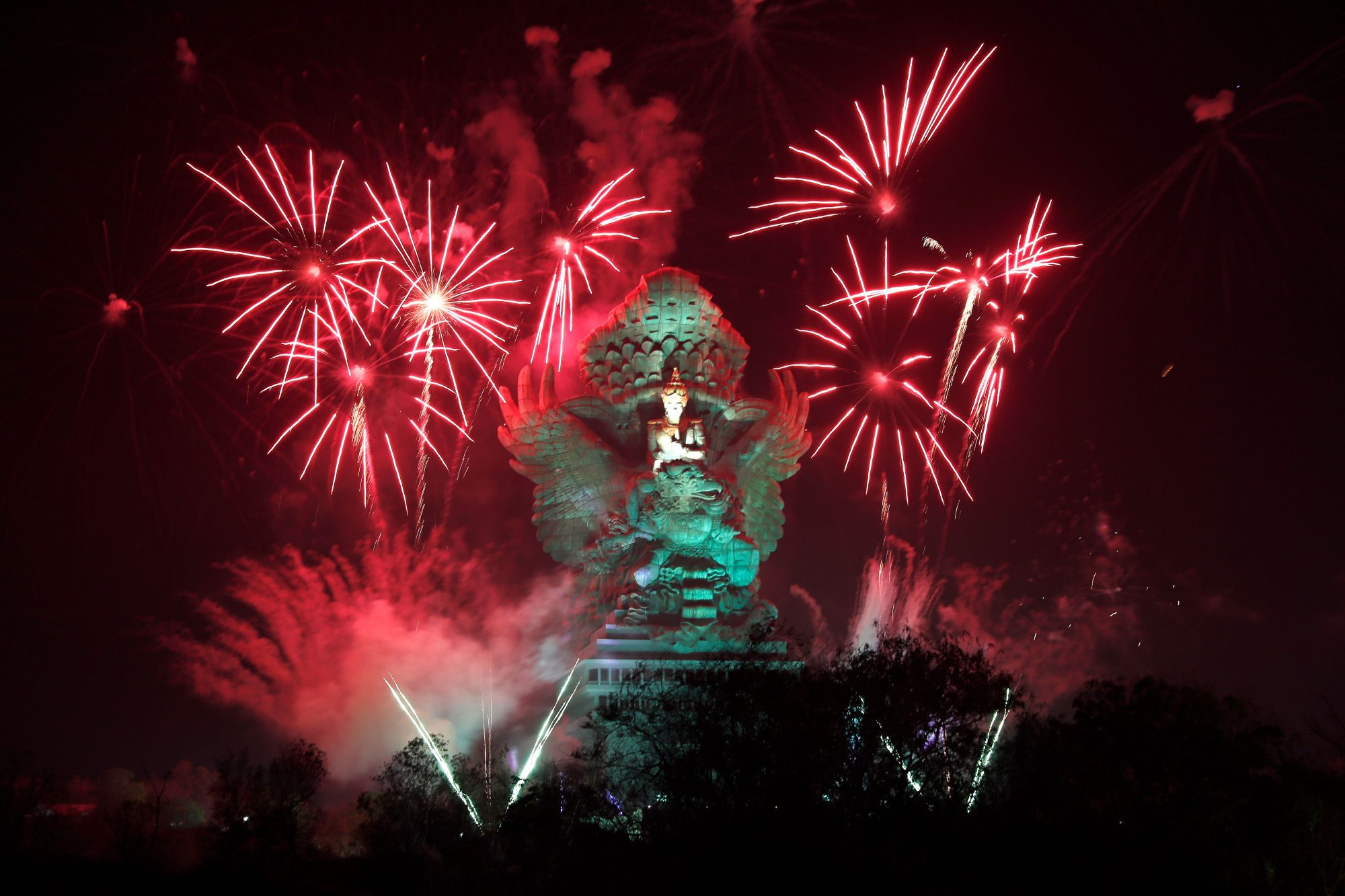 New Years in Indonesia