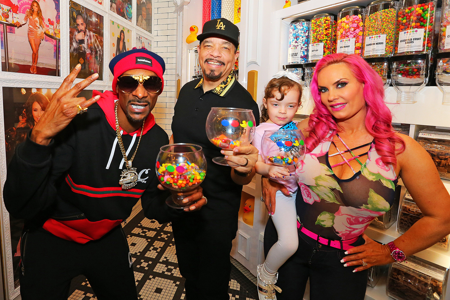 Snoop Dogg along with Ice-T and Coco Make a Special Appearance at the New Sugar Factory American Brasserie at Seminole Hard Rock Hotel & Casino Tampa on Sunday, Dec. 29, 2019