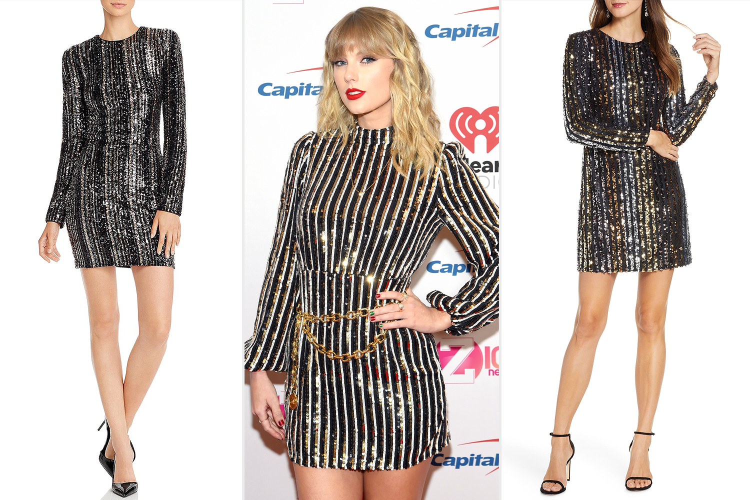 NEW YORK, NEW YORK - DECEMBER 13: Taylor Swift poses backstage at iHeartRadio's Z100 Jingle Ball 2019 Presented By Capital One on December 13, 2019 in New York City.