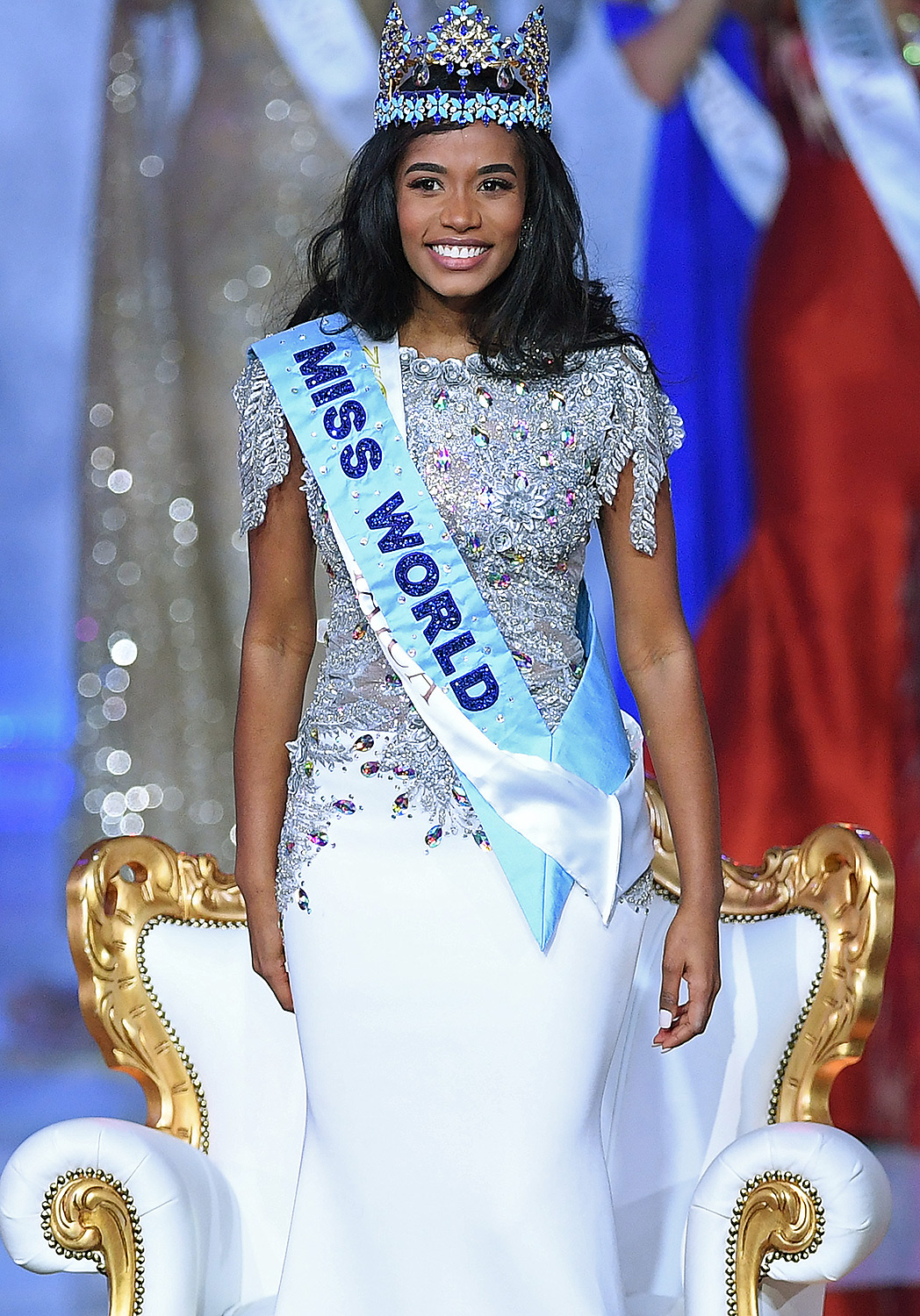 Newly crowned Miss World 2019 Miss Jamaica Toni-Ann Singh