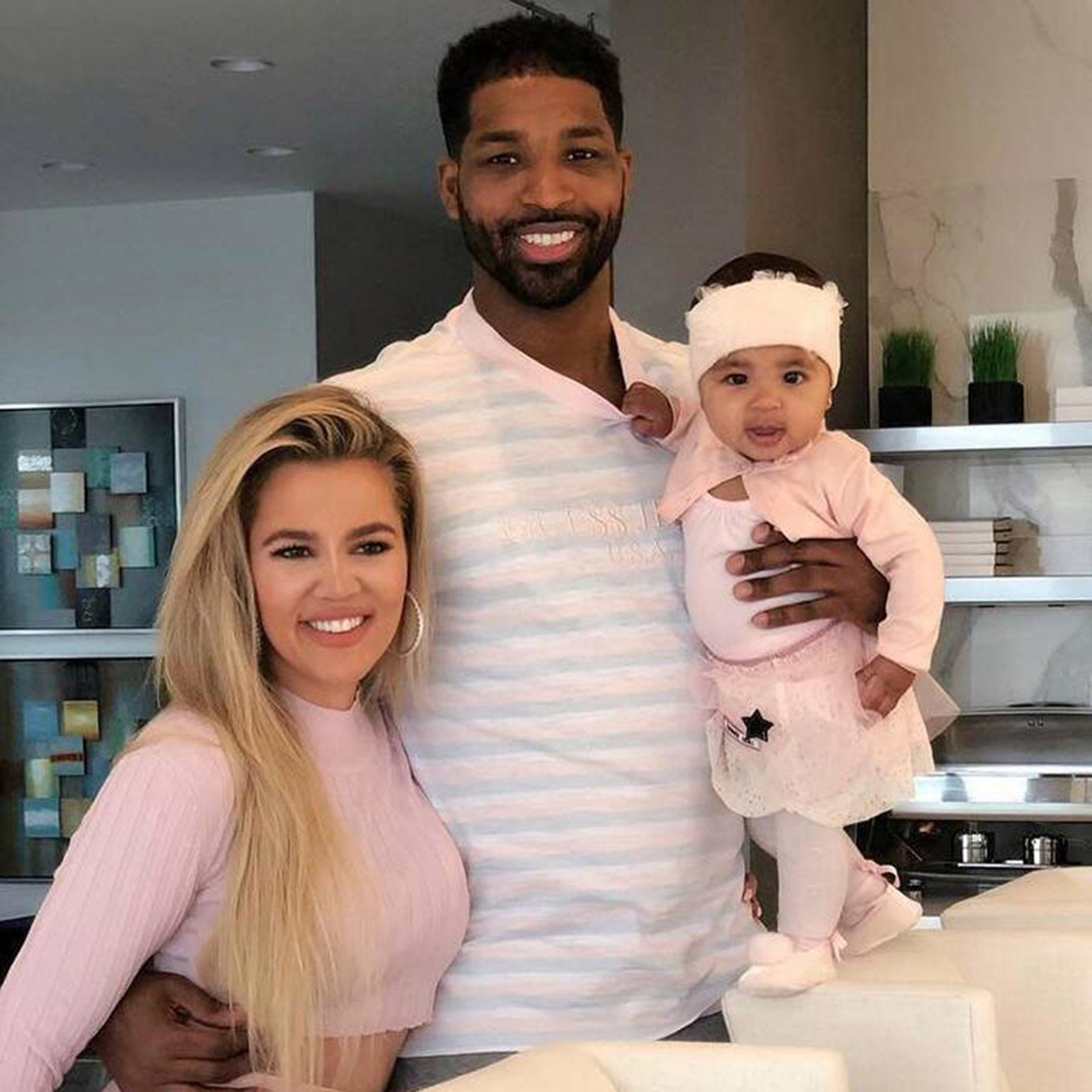 Tristan Thompson, Khloe Kardashian, True Thompson
