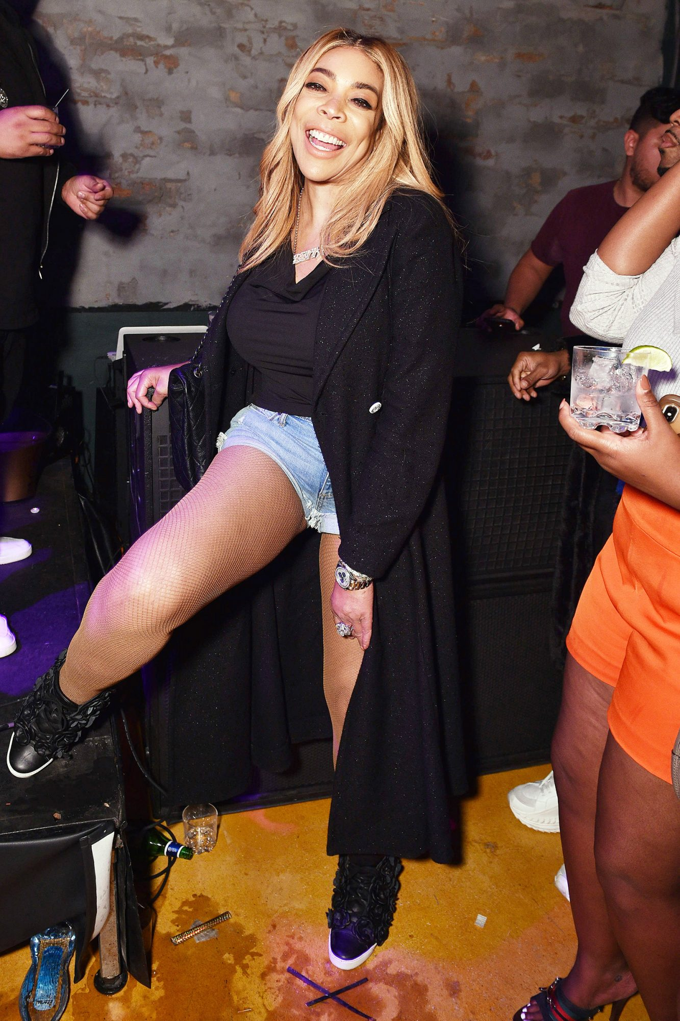 Wendy Williams attends BODEGA x DIESEL: The Unofficial Official Basel Gift Shop Party at La Otra on December 05, 2019 in Miami, Florida