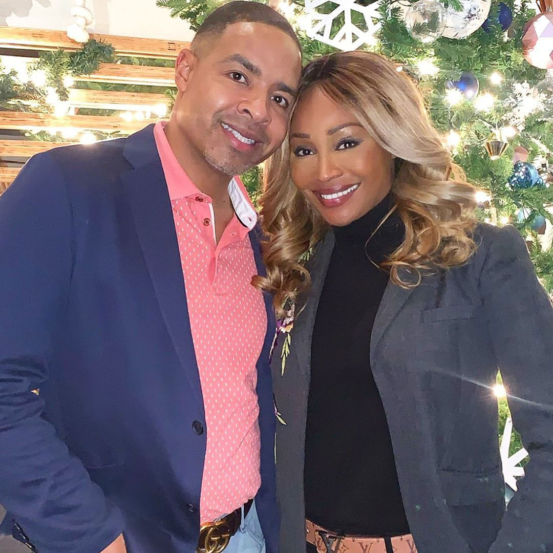 Mike Hill Cynthia Bailey Celebrity Christmas Trees