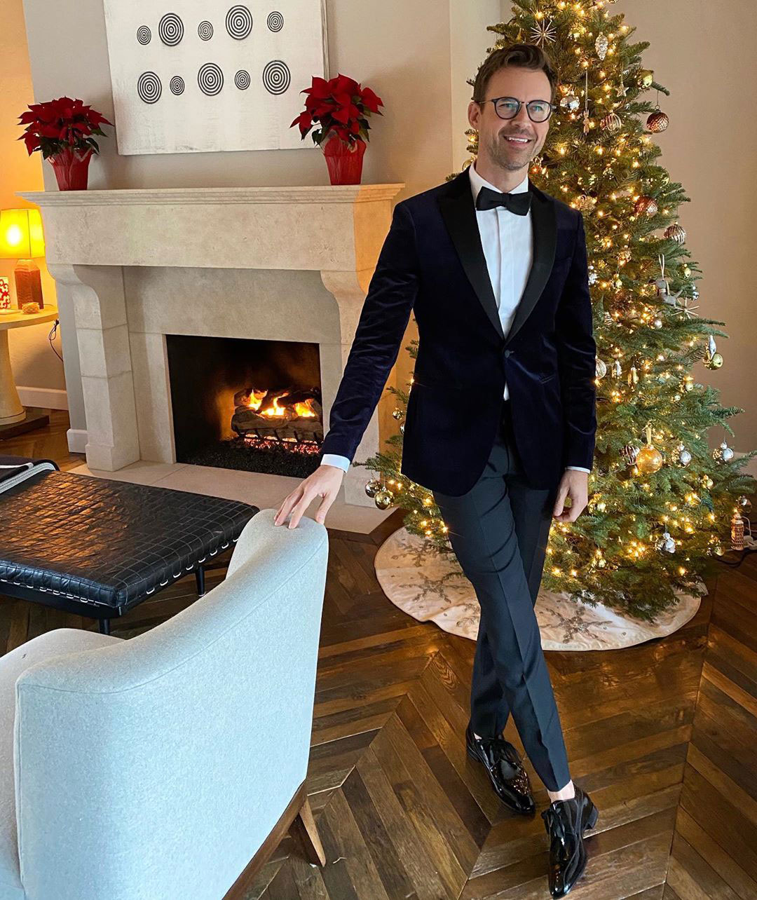 Brad Goreski Celebrity Christmas Trees
