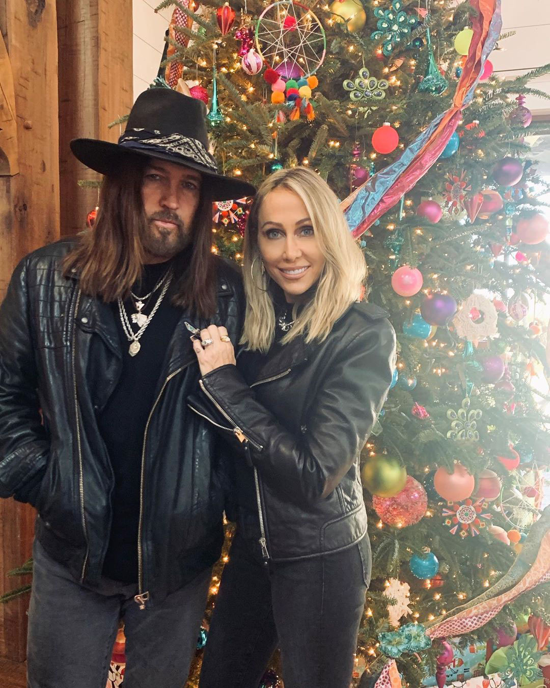Billy Ray Cyrus Celebrity Christmas Trees