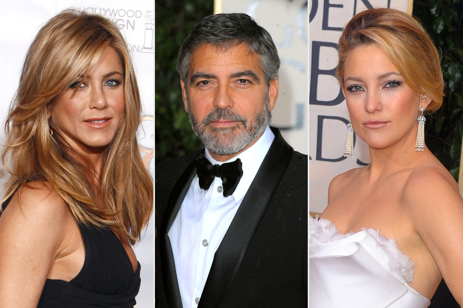 Jennifer Aniston, George Clooney, Kate Hudson