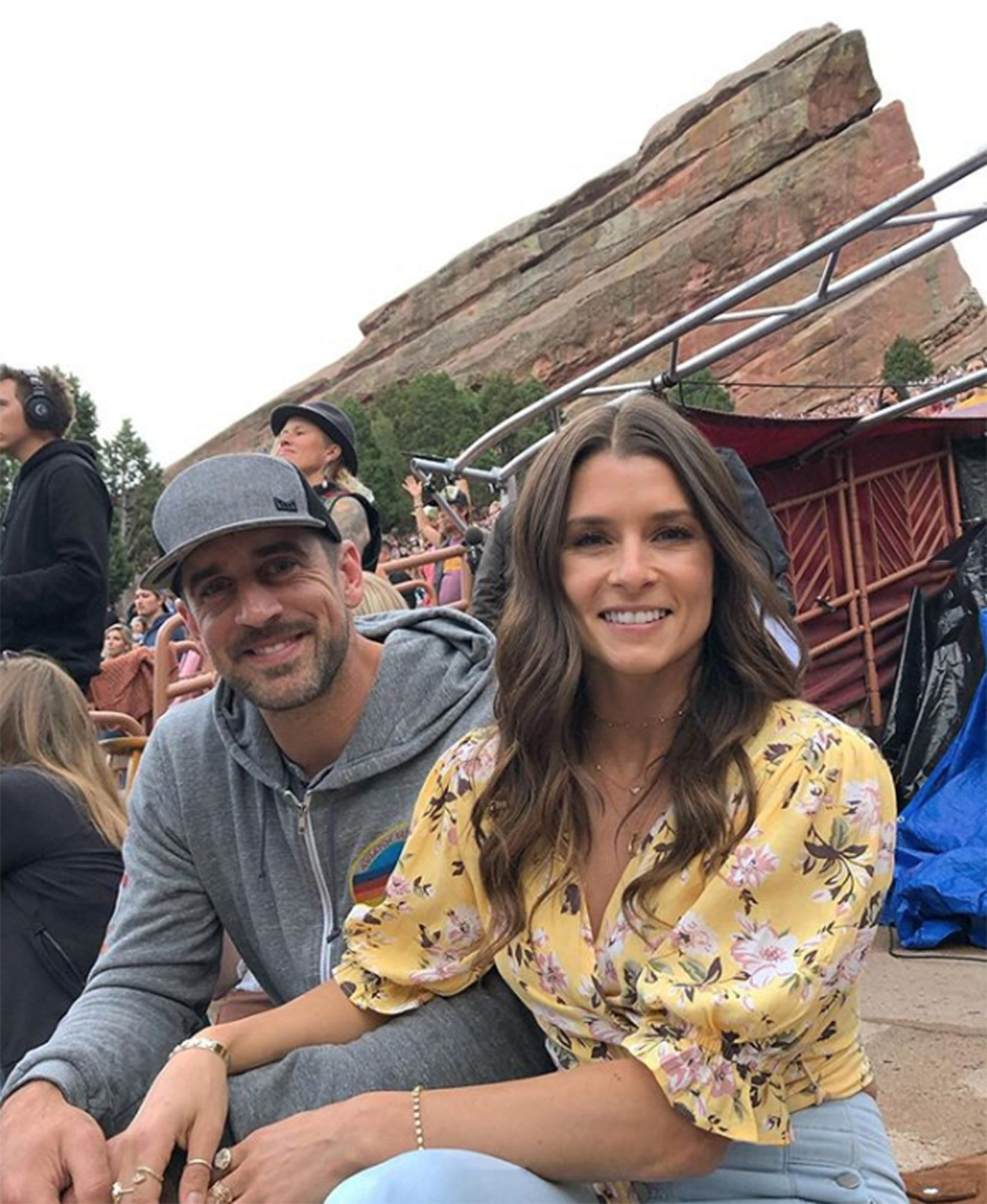 """Rodgers andPatrick called it quits, a rep for the former racecar driver confirmed to PEOPLE on July 16.                             The two firstconfirmedthey were a couple in January 2018.                             Patrick stopped following the Green Bay Packers quarterback on Instagram. The latest photos of Rodgers currently on Patrick's page are fromFebruaryandApril.                             Just weeks into thecoronavirus outbreak, Patrick opened up about quarantining with Rodgers, who she called """"extremely attractive"""" and """"super intelligent.""""                             """"If you like a partner who is extremely attractive, super intelligent, very thoughtful, patient (lord knows I can be stubborn), loves to travel, is open minded, is into growing in this life, and can ball. Ya, it's pretty amazing,"""" she said during an Instagram Q&Ain April."""