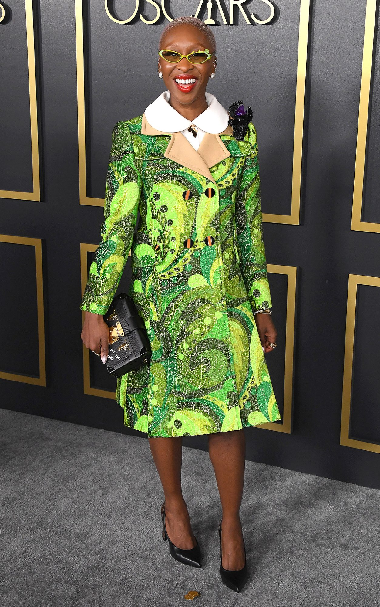 Cynthia Erivo arrives at the 92nd Oscars Nominees Luncheon on January 27, 2020