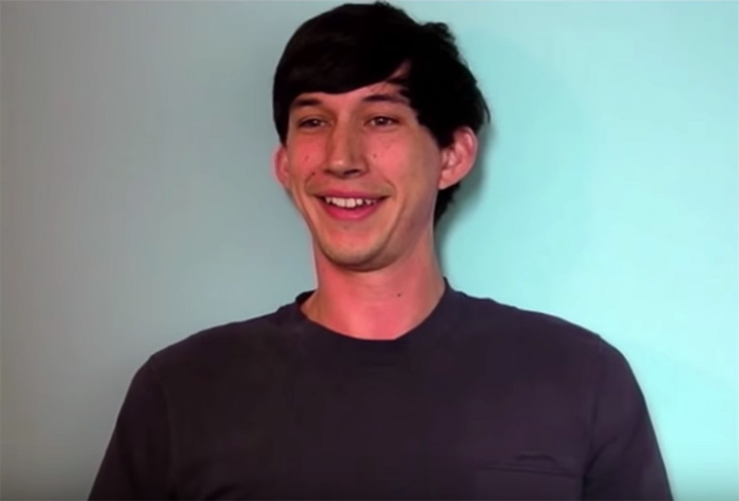 Adam Driver's screentest for Girls