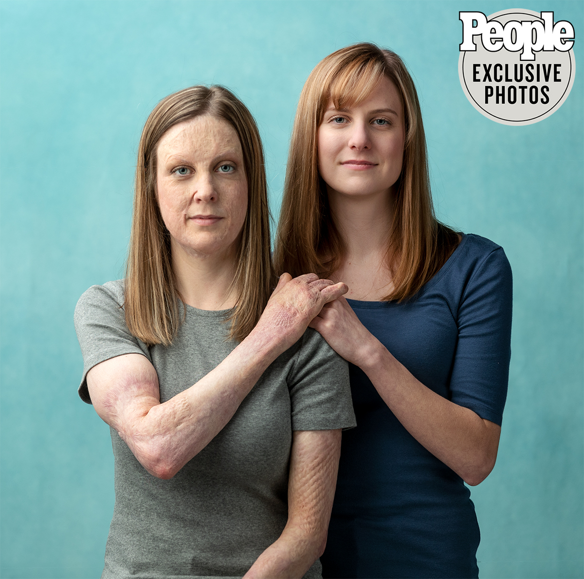 Identical Twins Michelle Lauren Anderson and Katherine Anderson-Hill, November 10, 2019, Minneapolis, MN.