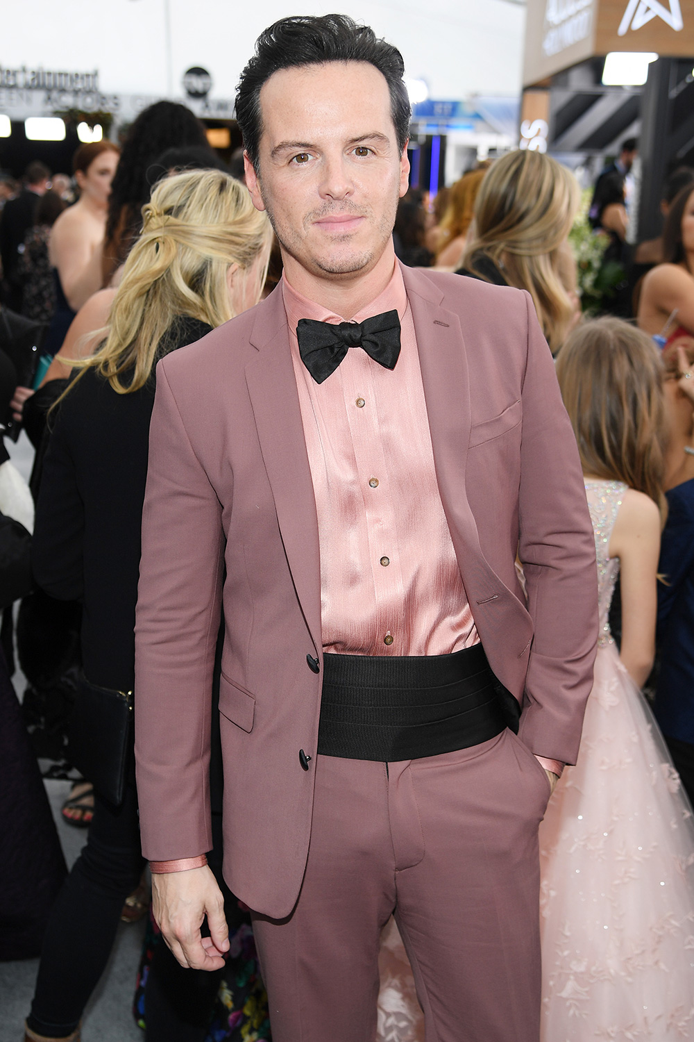 Andrew Scott attends the 26th Annual Screen ActorsGuild Awards at The Shrine Auditorium on January 19, 2020