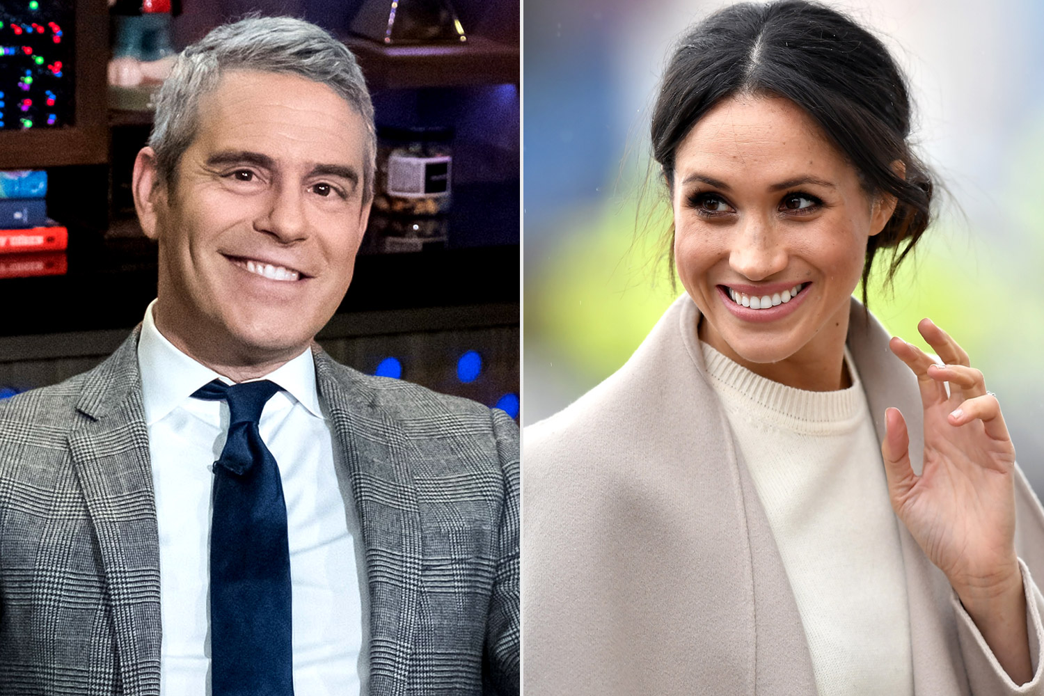 Andy Cohen, Meghan Markle