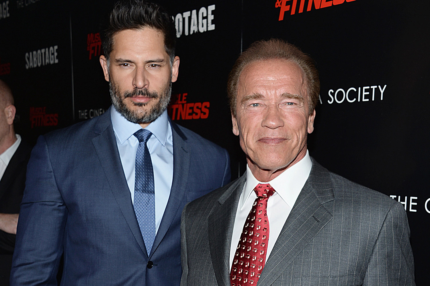 Joe Manganiello and Arnold Schwarzenegger