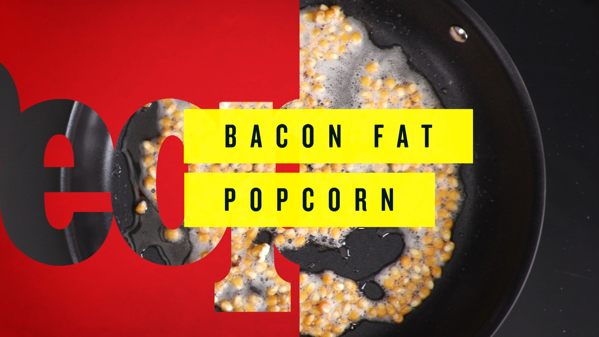 How to Make the Perfect Bacon Fat Popcorn for Your Super Bowl Party