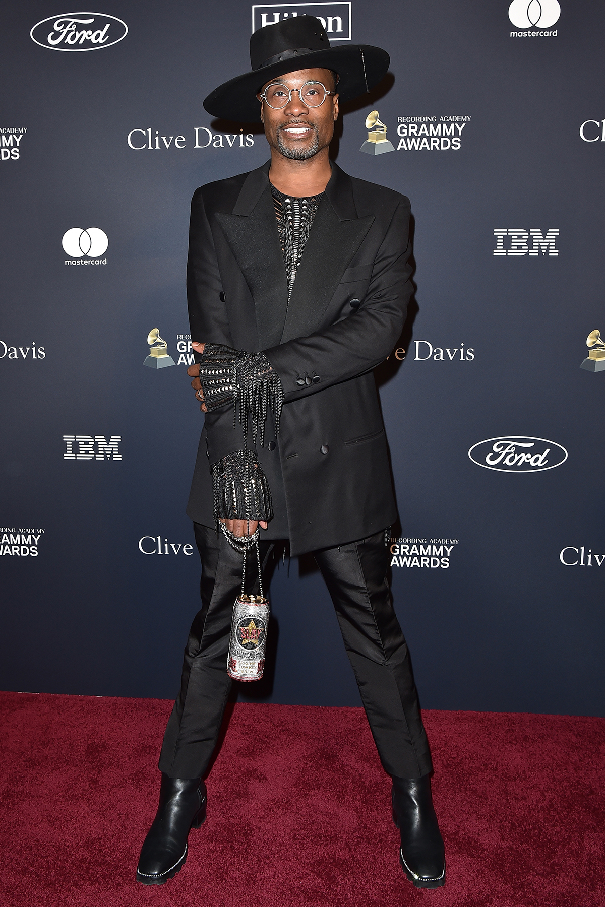 """Billy Porter attends the Pre-GRAMMY Gala and GRAMMY Salute to Industry Icons Honoring Sean """"Diddy"""" Combs at The Beverly Hilton Hotel on January 25, 2020 in Beverly Hills, California."""