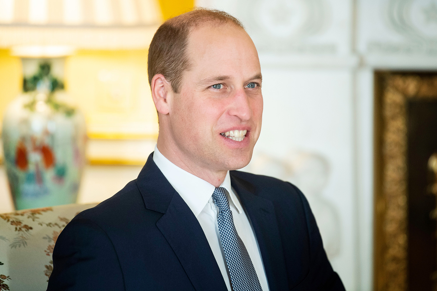 Prince William during an audience at Buckingham Palace Royal audiences at Buckingham Palace, London, UK - 20 Jan 2020