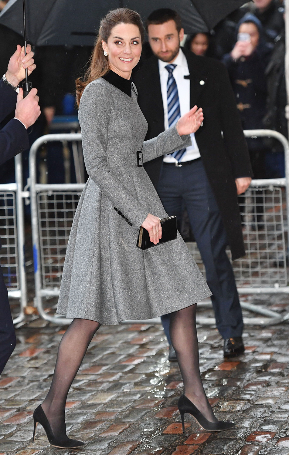 Prince William, Duke of Cambridge and Catherine, Duchess of Cambridge attend the UK Holocaust Memorial Day Commemorative Ceremony in Westminster on January 27, 2020 in London, England