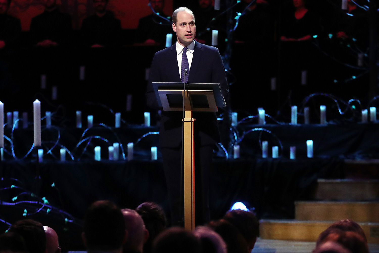 Prince William, Duke of Cambridge speaks during the UK Holocaust Memorial Day Commemorative Ceremony in Westminster on January 27, 2020 in London, England
