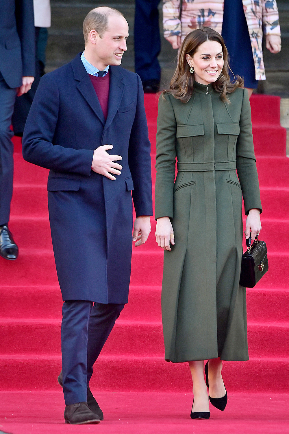 Prince William and Catherine Duchess of Cambridge visit to Bradford, UK - 15 Jan 2020
