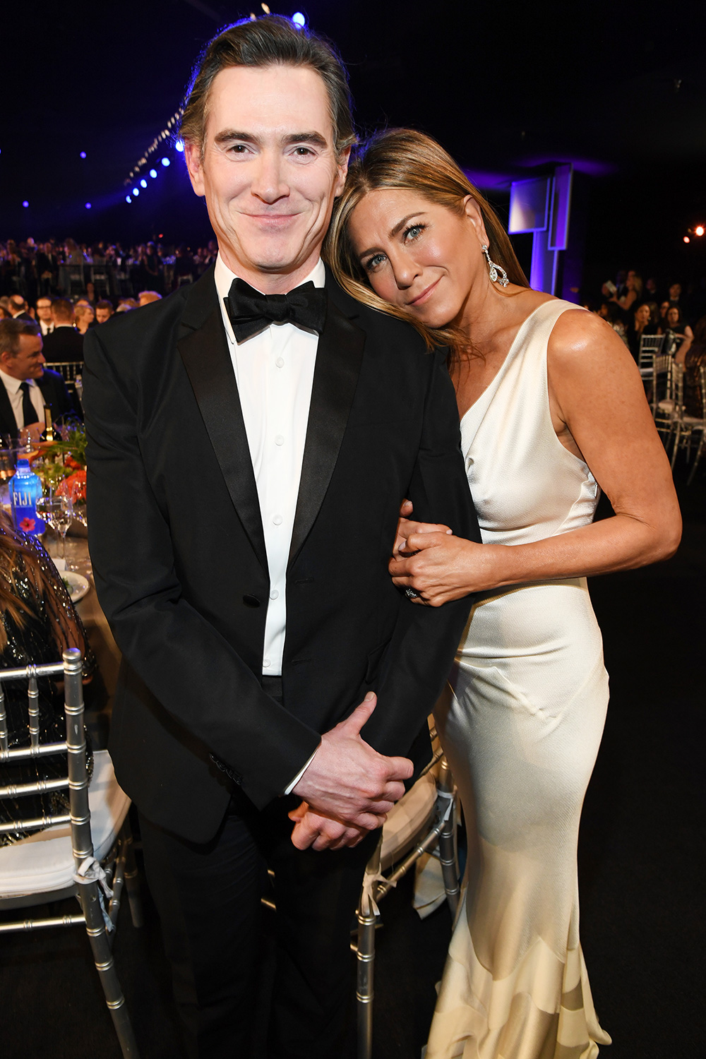 Billy Crudup and Jennifer Aniston attend the 26th Annual Screen Actors Guild Awards at The Shrine Auditorium on January 19, 2020 in Los Angeles, California