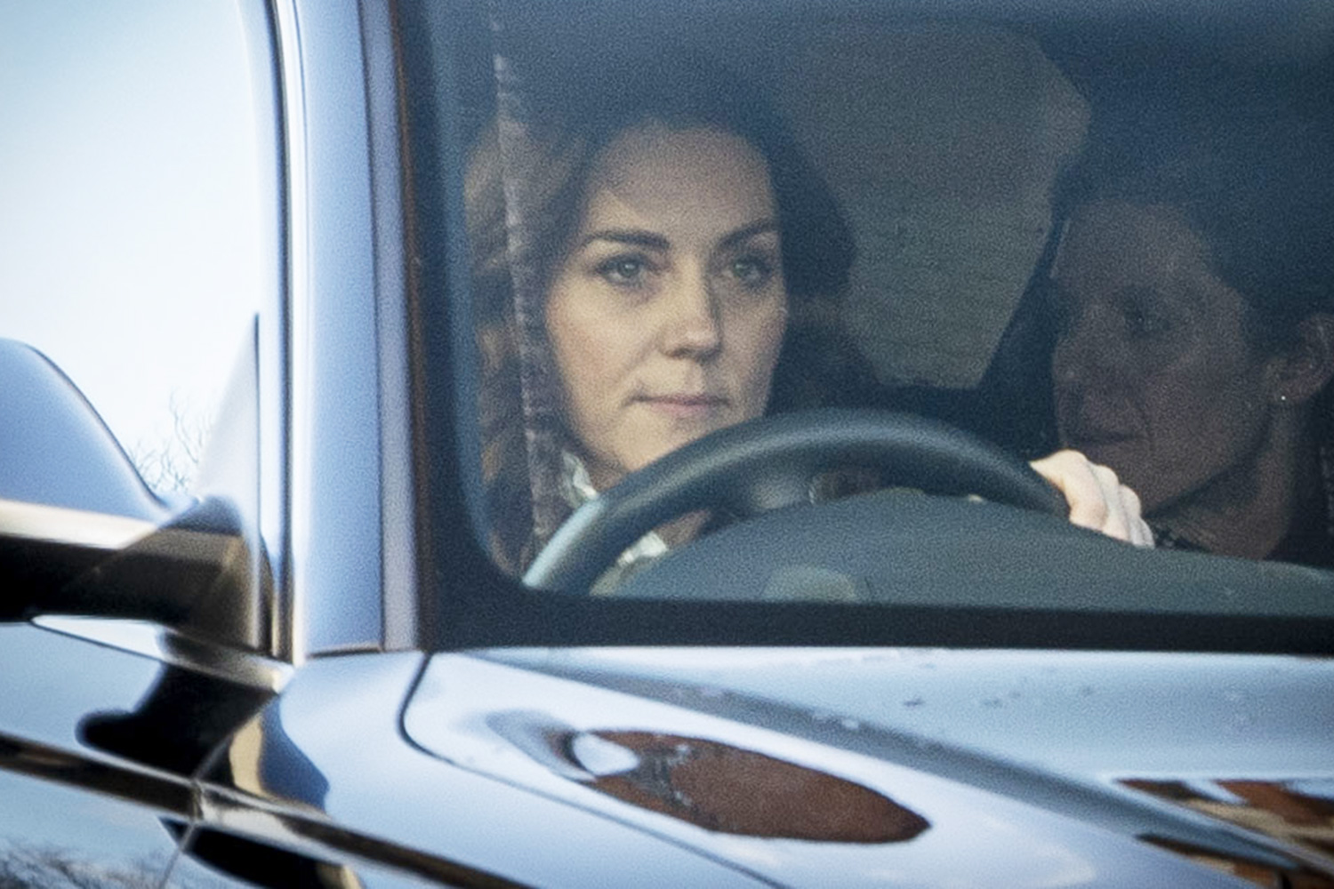 Catherine, Duchess of Cambridge pictured arriving at Kensington Palace today on her birthday.