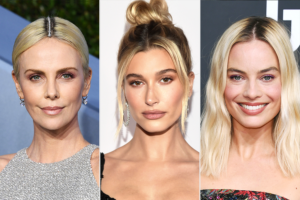 charlize theron, hailey baldwin, margot robbie