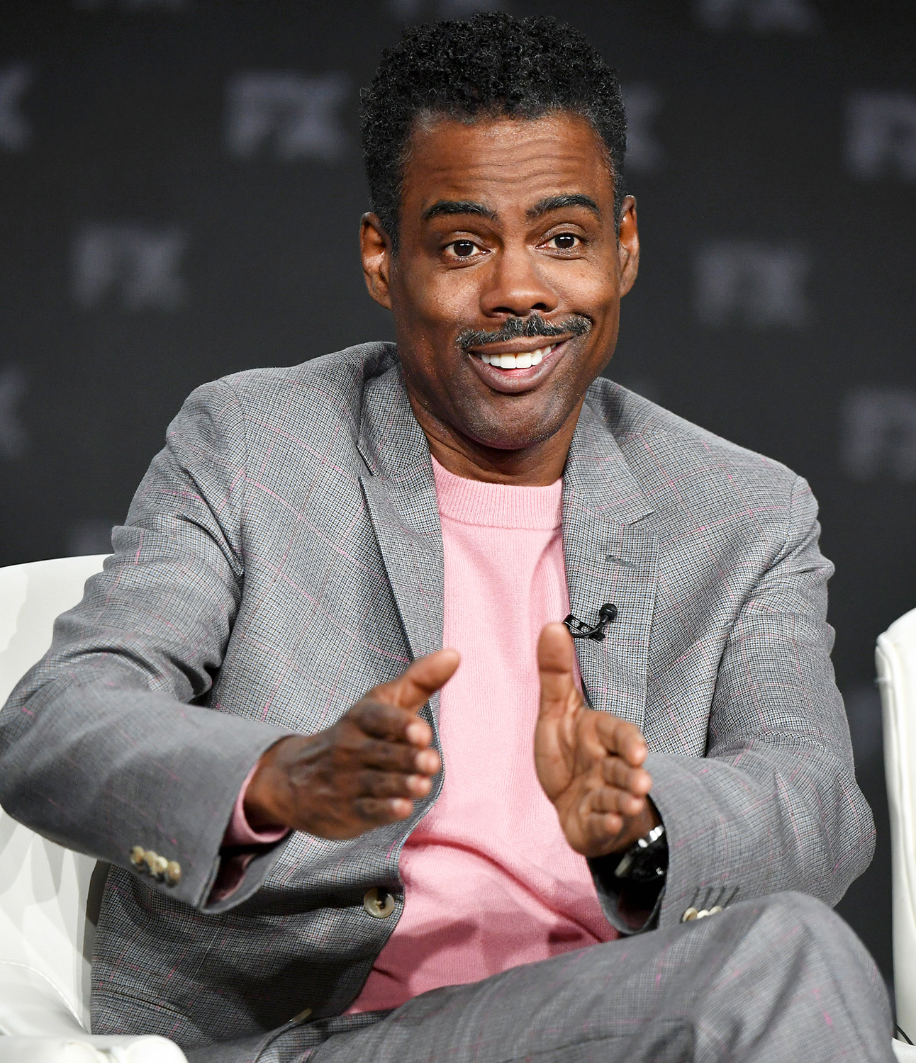 Chris Rock of 'Fargo' speaks during the FX segment of the 2020 Winter TCA Tour at The Langham Huntington, Pasadena on January 09, 2020 in Pasadena, California