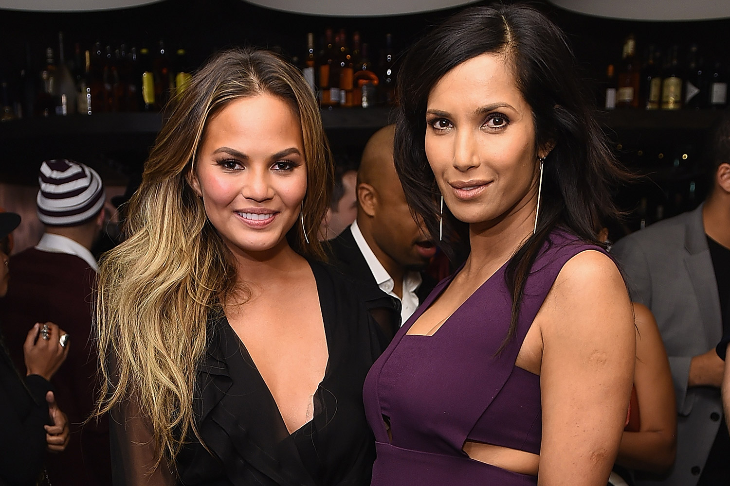 Chrissy Teigen and Padma Lakshmi