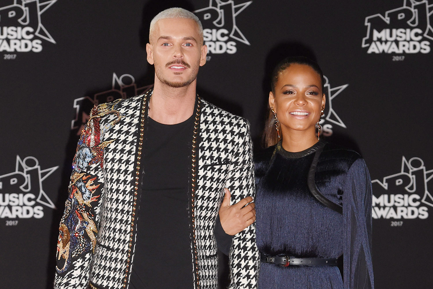 M Pokora and Christina Milian