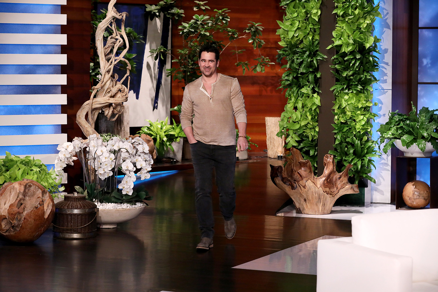 """""""The Gentleman"""" star Colin Farrell makes an appearance on """"The Ellen DeGeneres Show"""" airing Wednesday, January 22nd"""