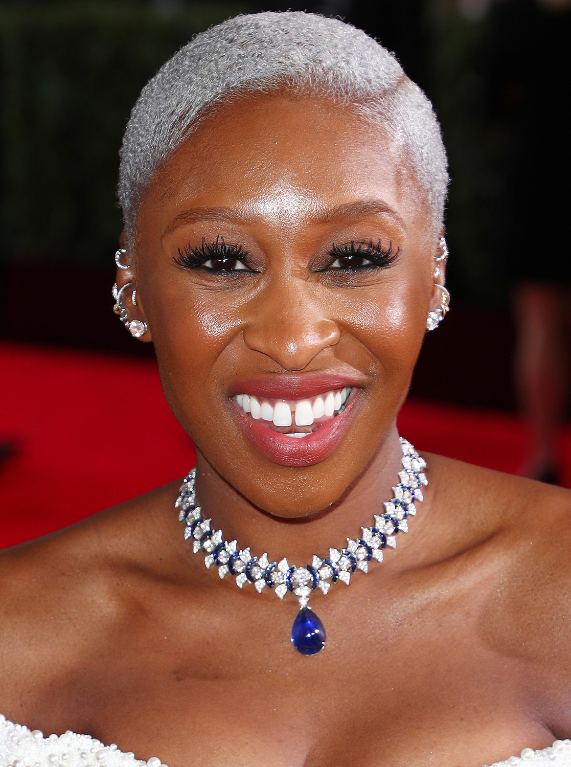 Cynthia Erivo's Chrome Cut