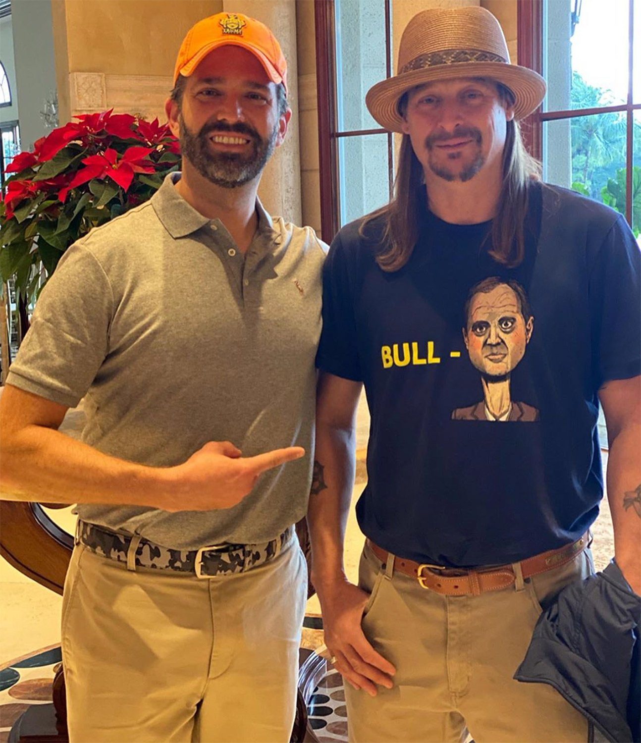 Donald Trump Jr. and Kid Rock