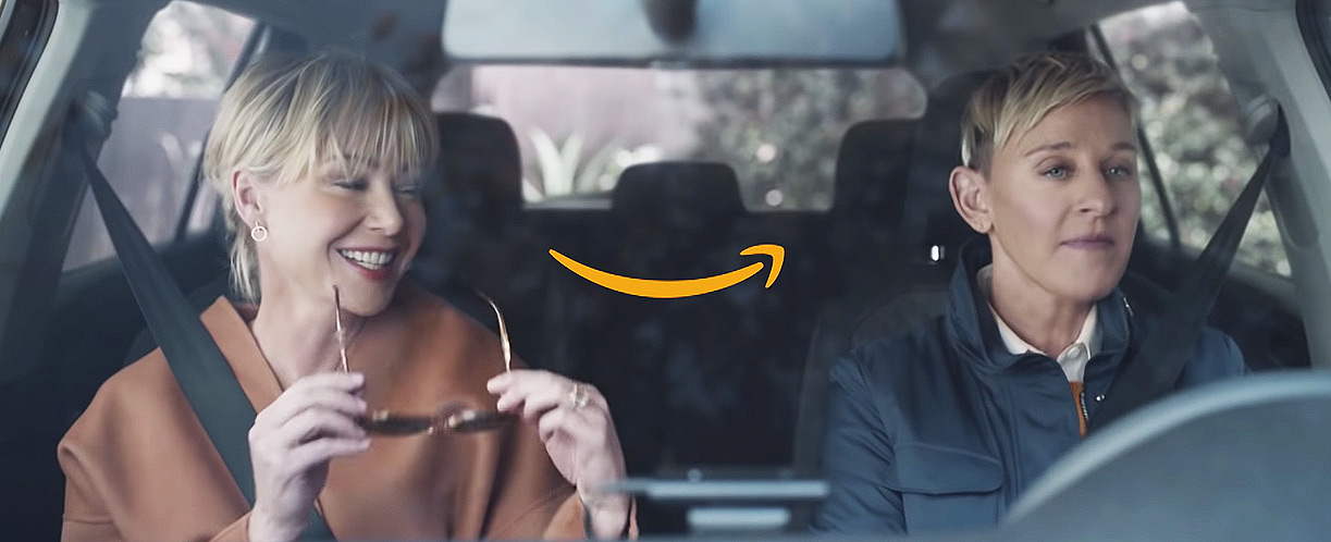 Ellen DeGeneres debuts Amazon Alexa Super Bowl ad with Wife Portia de Rossi: