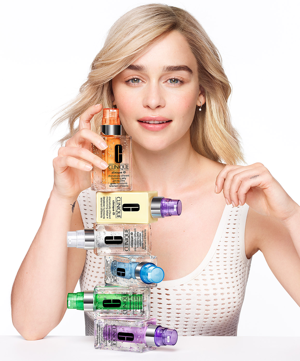 Emilia Clarke for Clinique
