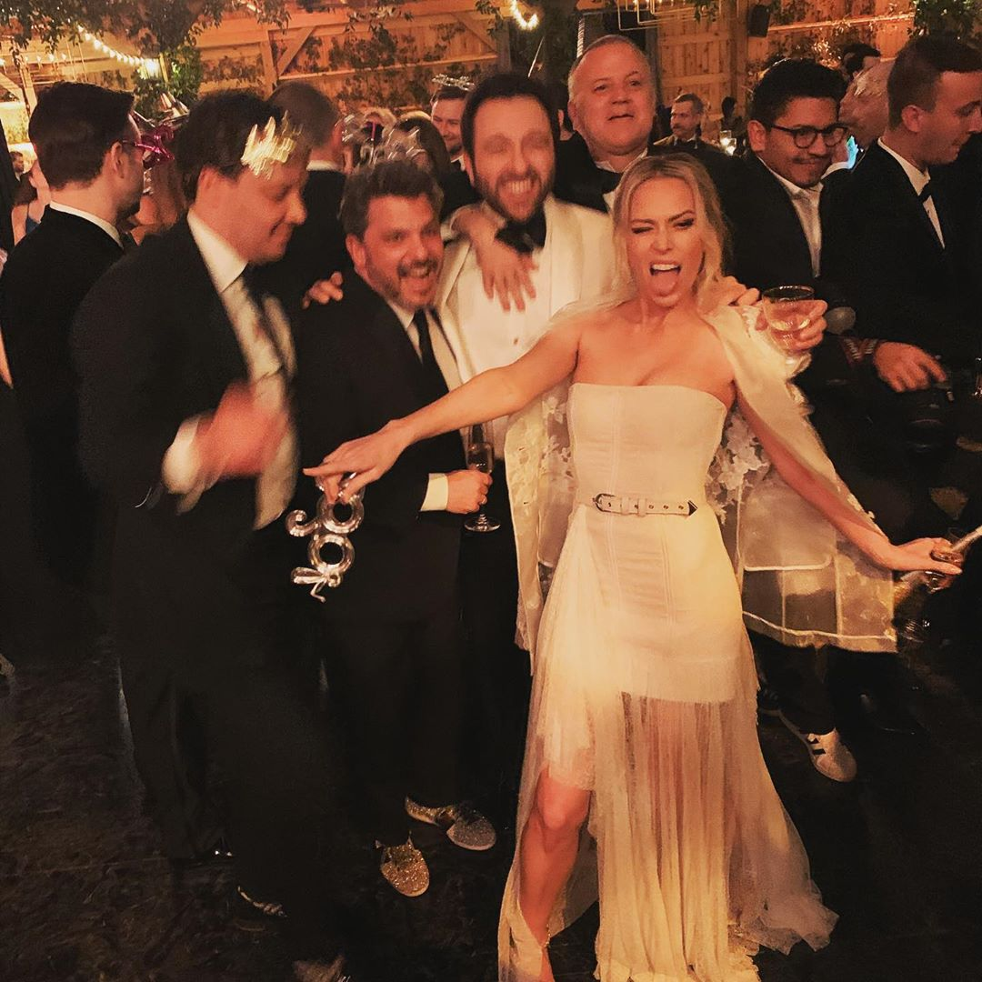 Erin Foster wedding
