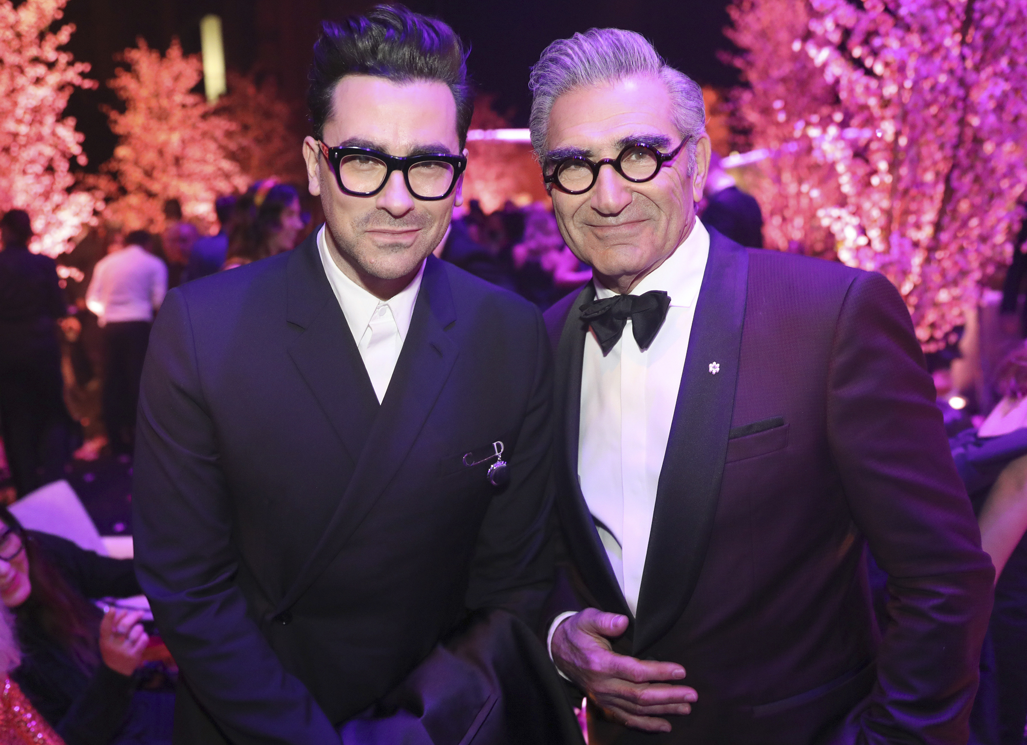 Eugene Levy, right, and Dan Levy