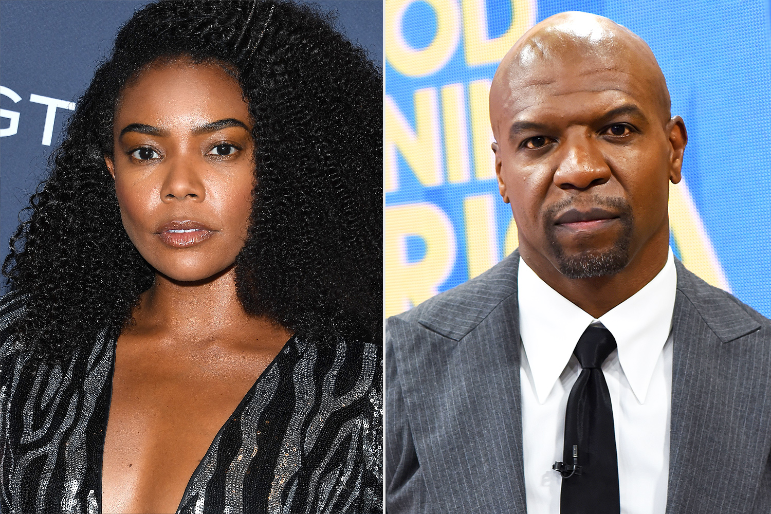 Gabrielle Union and Terry Crews