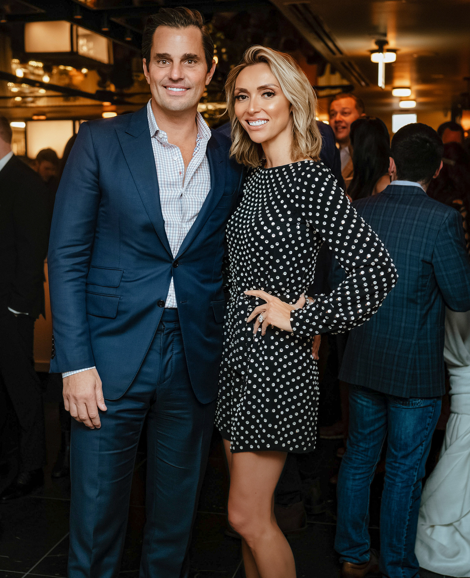 Giuliana & Bill Rancic's Opening RPM Seafood Party