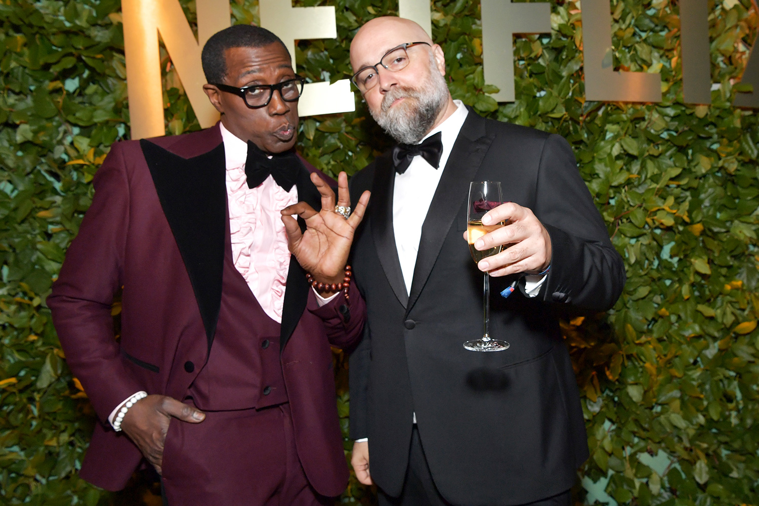 Wesley Snipes and Craig Brewer