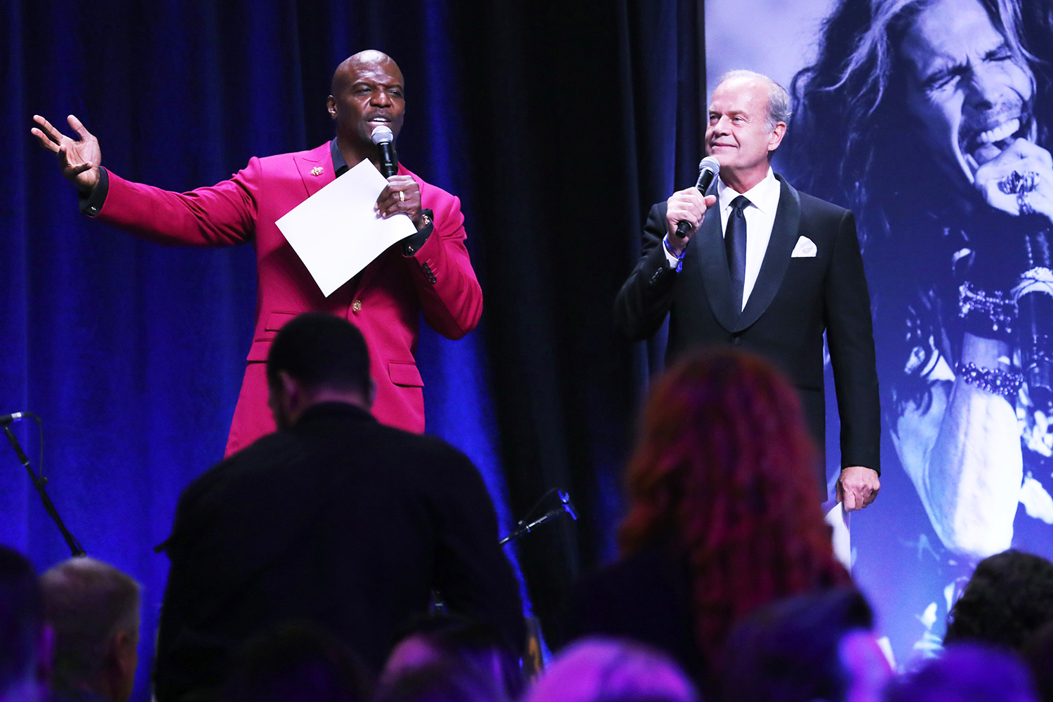 Terry Crews and Kelsey Grammer